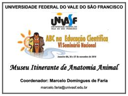 apresentação - Academia Brasileira de Ciências