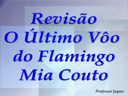 O último vôo do flamingo – Mia Couto