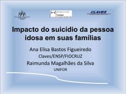 Impacto do suicídio da pessoa idosa em suas famílias
