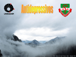 Depressão - Tese Concursos