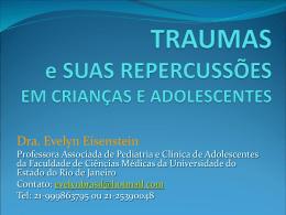 Traumas e Suas Repercussões em Crianças e Adolescentes