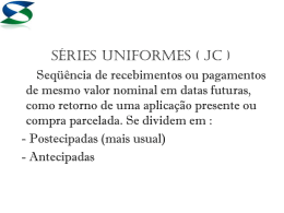 series uniformes (jc)