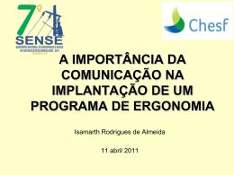 A Importância da Comunicação na Implantação de um Programa de