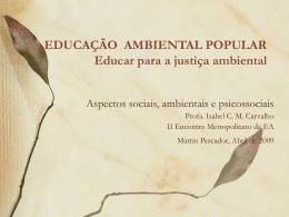 Isabel C. M. Carvalho