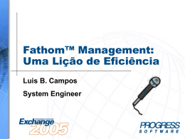 COMP-07 Fathom Management: A Lesson In Efficiency
