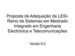 PPT - Departamento de Engenharia Electrónica e Informática