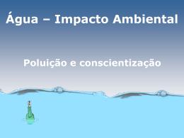 Poluição da Água - Colégio Machado de Assis
