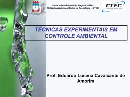 parâmetros químicos - Universidade Federal de Alagoas