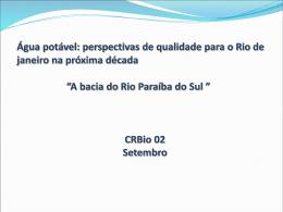 Rio Paraíba do Sul - CRBio-02