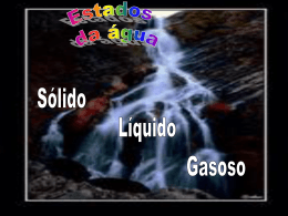 Estados físicos da água I.