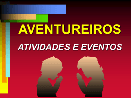 Apresentação do PowerPoint - ministério jovem da união nordeste
