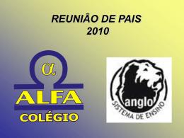 2º Ano a 4ª série - Colégio Alfa & Omega
