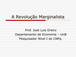 A Revolução Marginalista