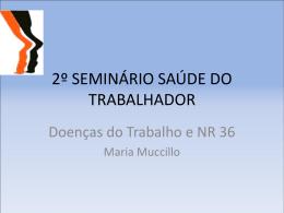 2º SEMINÁRIO SAÚDE DO TRABALHADOR