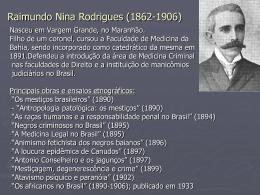 Nina Rodrigues - Acadêmico de Direito da FGV