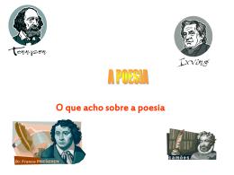 A poesia - enviada por Mariana Ribeiro