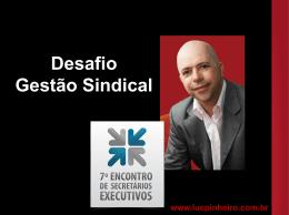 Apresentação Luciano Pinheiro I