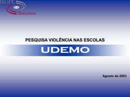 2002 - Pesquisa violência nas escolas