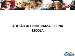 Arabella - BPC na Escola - Assistência e Desenvolvimento Social