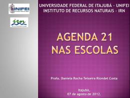 Agenda 21 na Escola em Itajubá