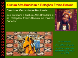 educação das relações étnico