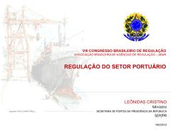 Regulação do Setor Portuário