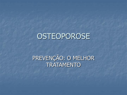OSTEOPOROSE - Conventionline