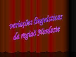 região nordeste - escola estadual dr martinho marques