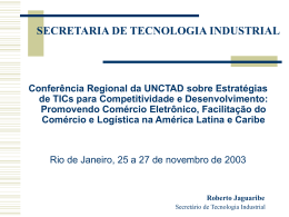 Roberto Jaguaribe, MDIC, Brazil