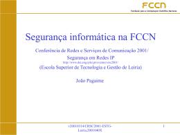 FCCN - Sistemas de Informação
