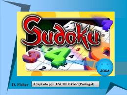 PPT com 20 sudokus de todos os formatos e níveis