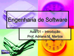 ESOF - INF Aula 01 - Introducao
