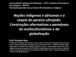 AULA multiculturalismo e globalização - 10.2014