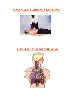 Massagem cardíaca externa localização coração