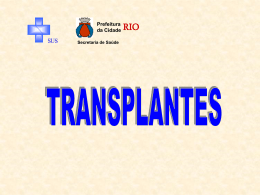 Transplantes de Órgãos e Hospitais Privados