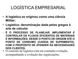 Principais Funções da Logística