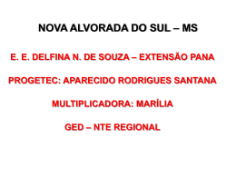 NOVA ALVORADA DO SUL – MS