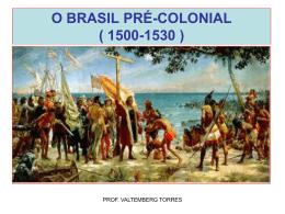 o brasil pré-colonial ( 1500