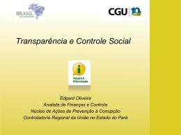 Transparência e acesso a informação