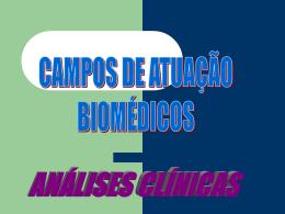atuação do biomédico