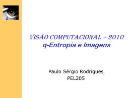 Entropia e Imagens