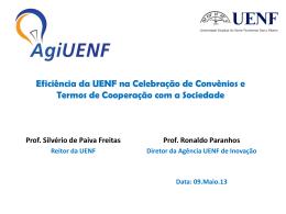 Eficiência da UENF na Celebração de Convênios e