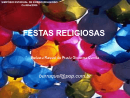 Festas Religiosas
