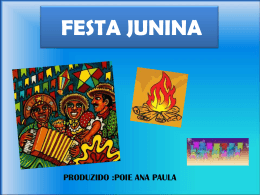 FESTA JUNINA - WordPress.com