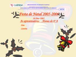 Festa de Natal 2005