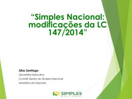 Palestra Simples Nacional – Silas Santiago - Sescon-RJ