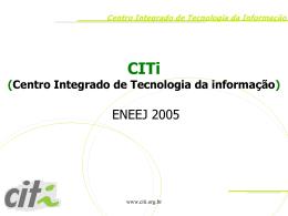 apresentacao_ENEEJ - Centro de Informática da UFPE
