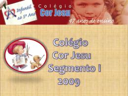 1º ao 5º ano - Colégio Cor Jesu
