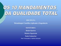 Apresentação 10 Mandamentos