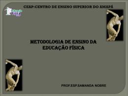 Estilos os metodologias de ensino